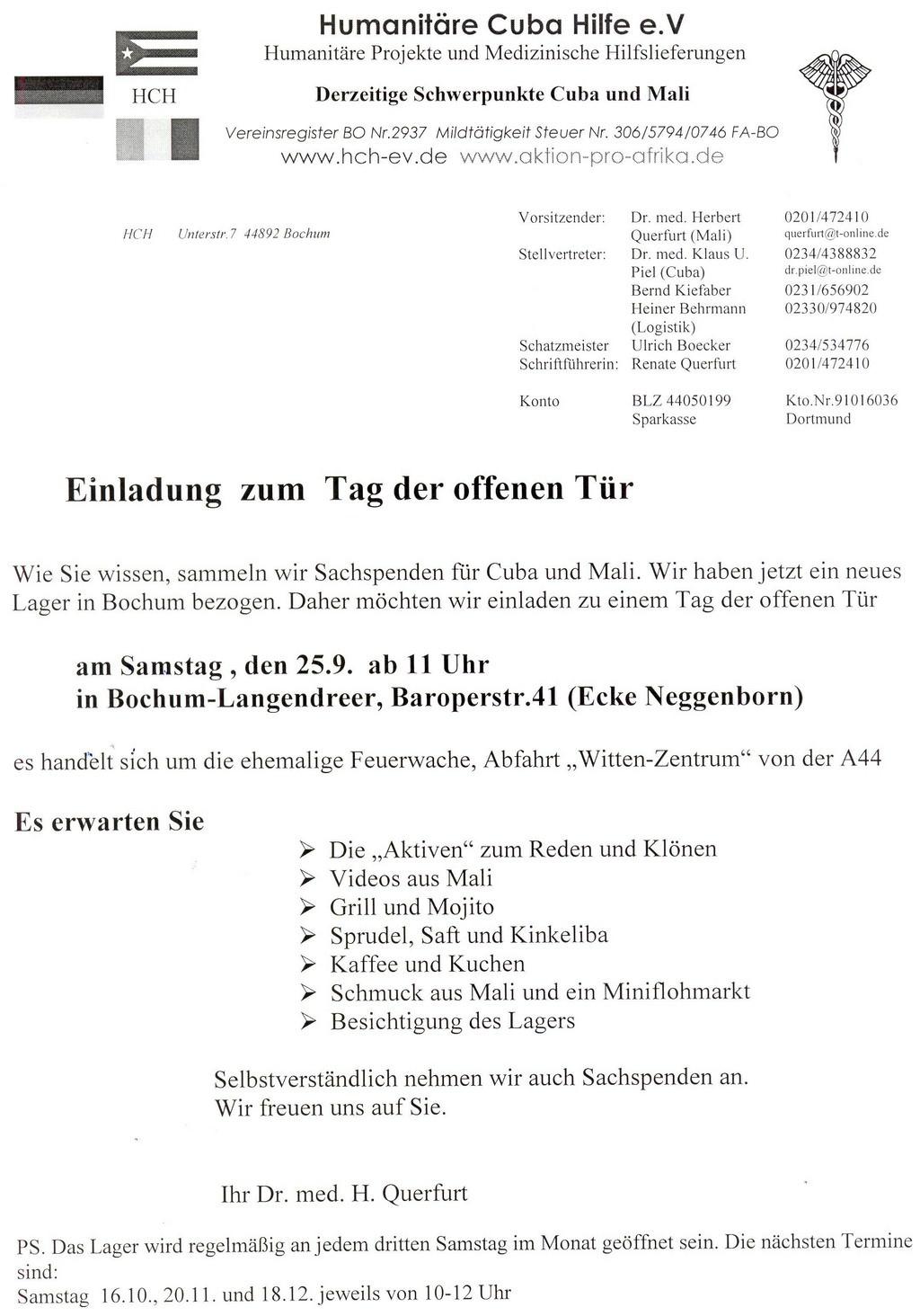 neue beiträge 2011, Einladung