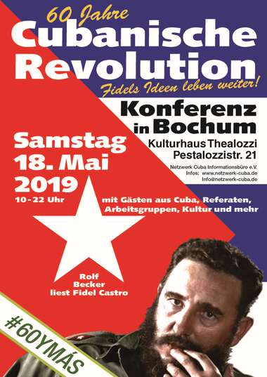 Kubakonferenz in Bochum am 18. Mai 2019