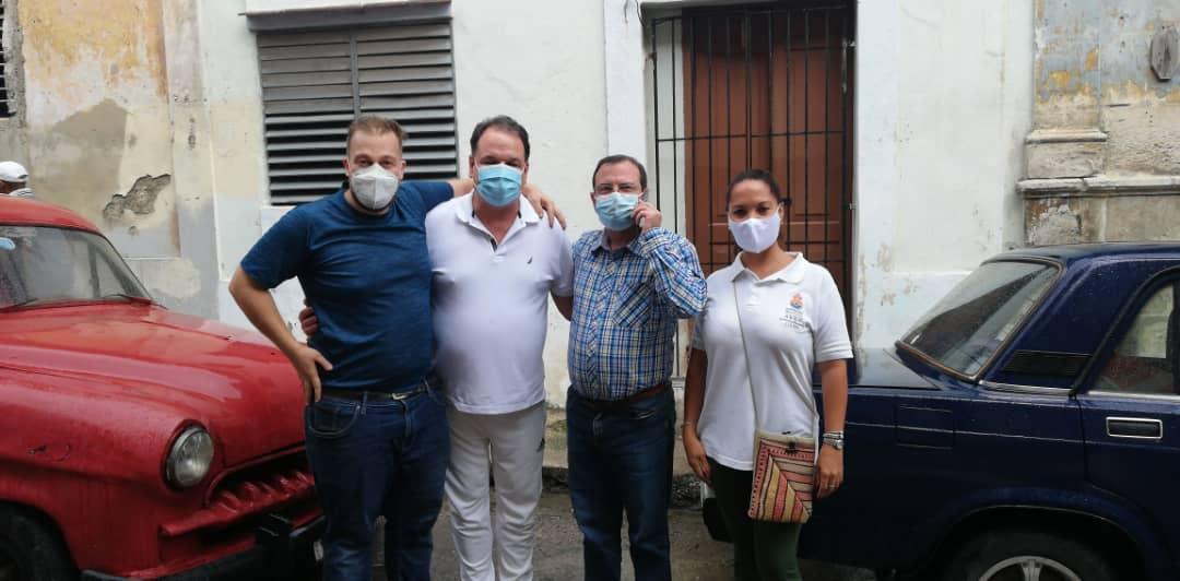 Dr. Enrique Aleman, Hanno Hehr, Fernando Gonzáles Llort, Gladys Aillon