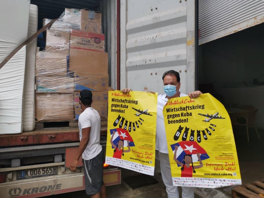 HCH-Container in Havanna angekommen