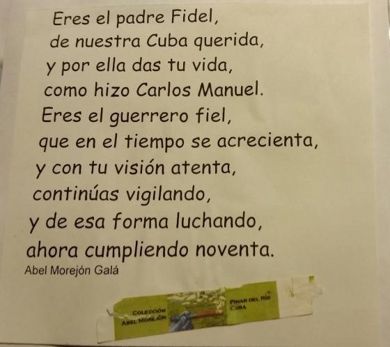 Eres el padre Fidel ...